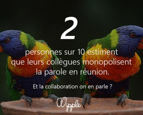 Calendrier 1 - Wipple - monopoliser la parole