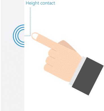 illustration technologie infrarouge sur écran tactile entreprise