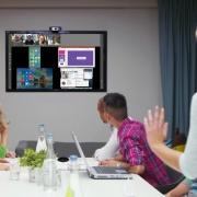 Visioconférence en réunion avec Kickle