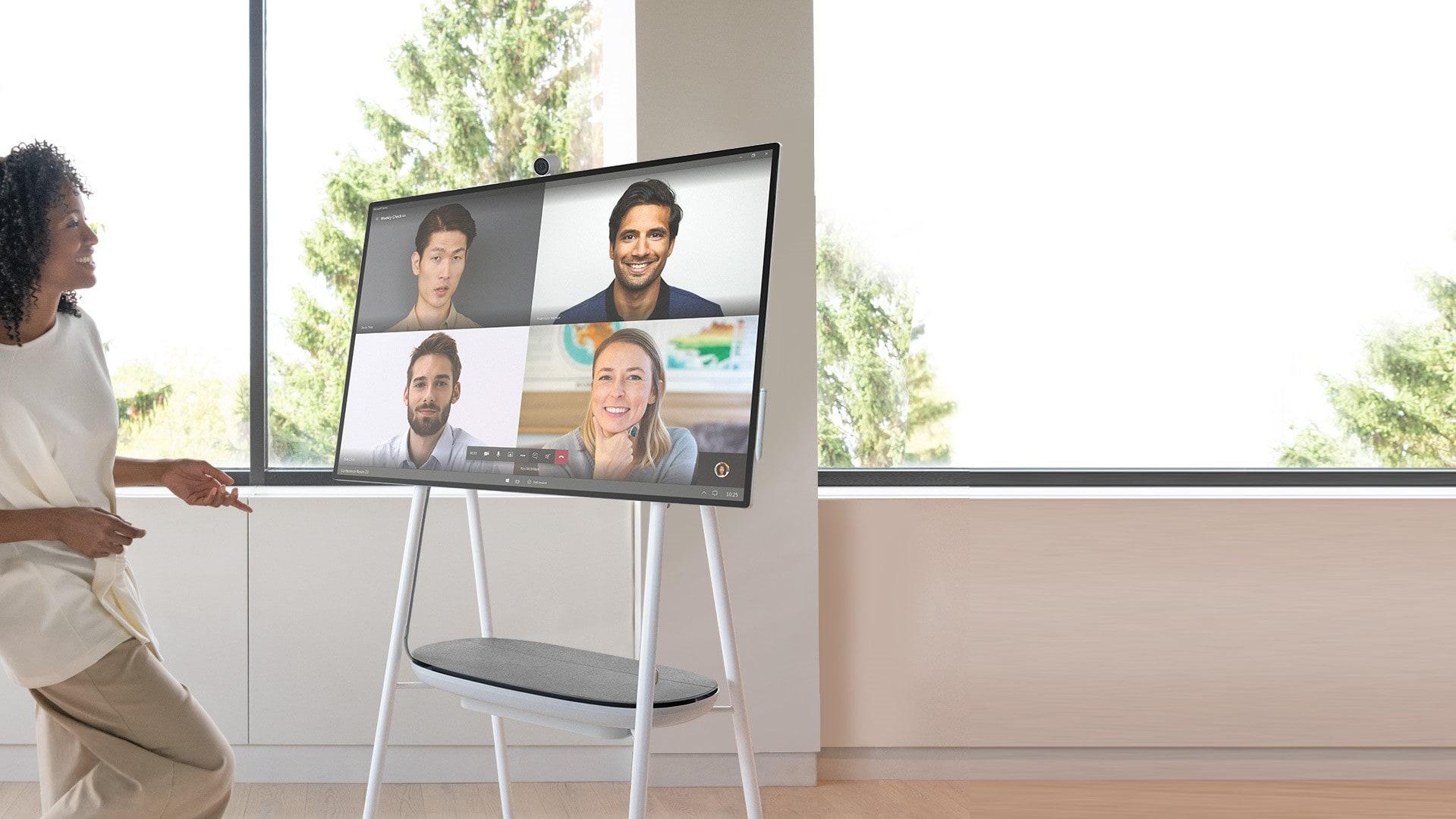 Surface Hub offre une qualité de visioconférence exceptionnelle !