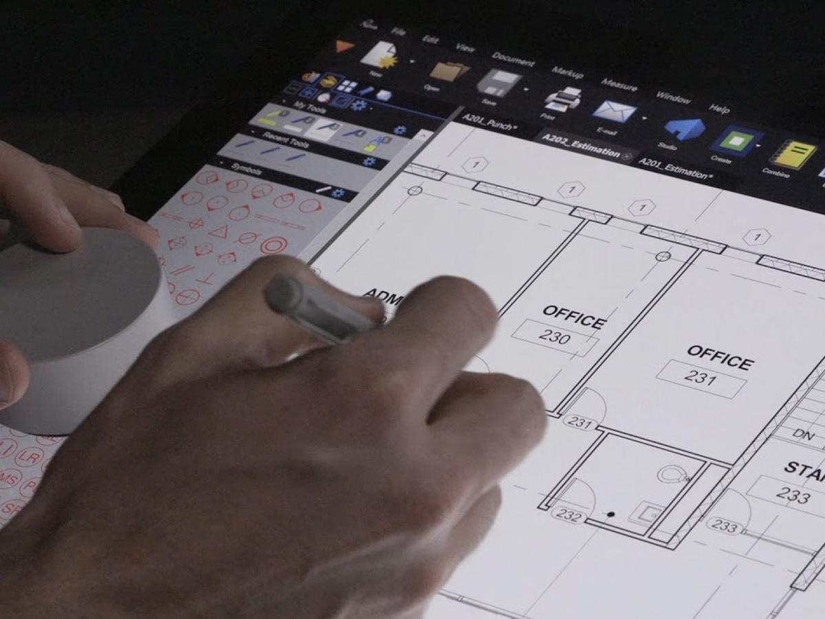 travail digital sur plan pour bureau veritas marine