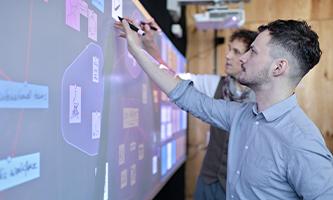 logiciel de créativité & innovation hoylu